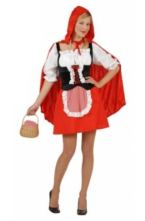Red Riding Hood Ladies plus size costume